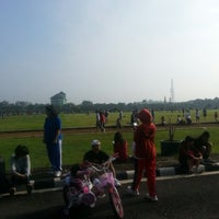 Photo taken at Lapangan Rampal by Astrid S. on 12/16/2012