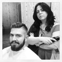 Photo taken at Crimpers Hair Salon by Slean P. on 8/6/2013