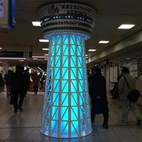 Photo taken at 東武大宮駅 1-2番線ホーム by pyonylife on 12/27/2012