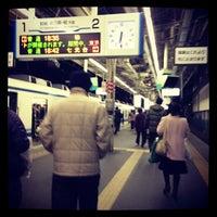 Photo taken at 東武大宮駅 1-2番線ホーム by pyonylife on 12/10/2012