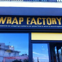Photo taken at Wrap Factory by Manos T. on 12/24/2012