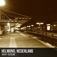 Photo taken at Station Helmond by Wesley G. on 1/19/2013