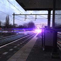 Photo taken at Station Helmond by Wesley G. on 12/31/2012