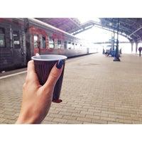 Photo taken at Остановка «Проспект Калинина — Южный вокзал» by Irina K. on 7/28/2015