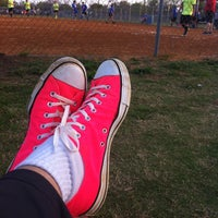 Photo taken at Kyle Kickball Fields by Sean C. on 3/23/2013