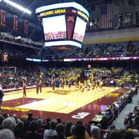 Photo taken at Williams Arena by Shane G. on 11/2/2012