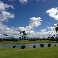 Photo taken at Hawaii Prince Golf Club by Jay H. on 11/9/2012