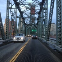 Photo taken at Hawthorne Bridge by Chris M. on 11/20/2012