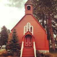 Photo taken at Fort Sherman Chapel by Breton S. on 3/17/2013
