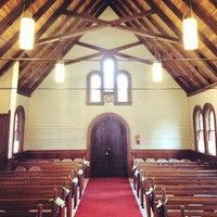 Photo taken at Fort Sherman Chapel by Breton S. on 3/16/2013