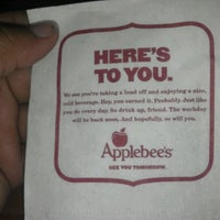 Photo taken at Applebee's Grill + Bar by Virginias D. on 10/6/2012