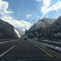 Photo taken at 미시령계곡 by Skott S. on 4/4/2014