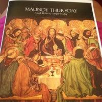 Photo taken at Trinity Presbyterian by Michele W. on 3/28/2013