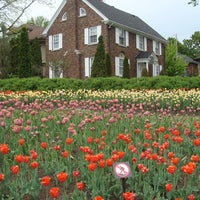 Photo taken at Tulip Festival Headquarters by Mohammed S. on 5/17/2015