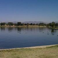 Photo taken at Lake Balboa Park by Shine K. on 9/19/2012