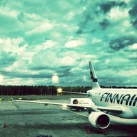 Photo taken at Helsinki Airport (HEL) by Sungho C. on 7/21/2013