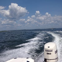Photo taken at Crow Island by Anna W. on 8/10/2014
