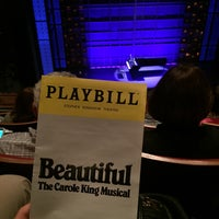 Photo taken at Beautiful: The Carole King Musical by Anna W. on 9/13/2017