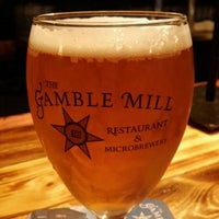 Photo taken at The Gamble Mill Restaurant by Tim k. on 6/6/2014