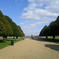 Photo taken at Hampton Court Palace Gardens by W on 4/1/2013