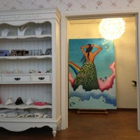 """Photo taken at """"Allegra"""" The Art Shop by Androniki Moustaka by Androniki handmadeJewel A. on 11/11/2012"""