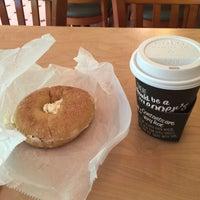 Photo taken at Bruegger's Bagel Bakery by Karri D. on 5/13/2015