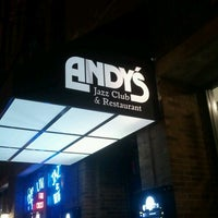 Photo taken at Andy's Jazz Club by V A. on 10/7/2012