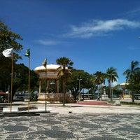 Photo taken at Praça Fausto Cardoso by Marcelo C. on 4/4/2013