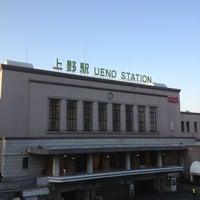 Photo taken at Ueno Station by Hibiki Y. on 1/2/2013