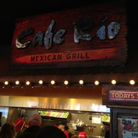 Photo taken at Cafe Rio Mexican Grill by Justin C. on 12/28/2012