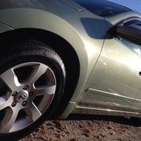 Photo taken at White Glove Car Wash by Kristen T. on 10/26/2014