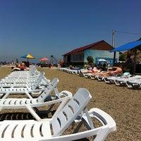 Photo taken at Пляж На Маяке by Olga on 6/23/2013