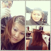 Photo taken at Willow Hair & Nails by Ghen L. on 1/25/2014