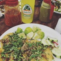 Photo taken at Taquitos West Ave. by Bea B. on 7/21/2016