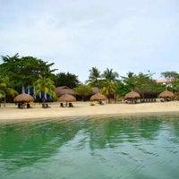 Photo taken at Bluewater Maribago Beach Resort by Duncan Macleod on 6/2/2013