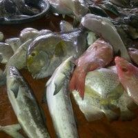 Photo taken at TPI (Tempat Pelelangan Ikan) by neng u. on 1/23/2013