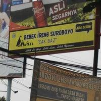 "Photo taken at Bebek Ireng Suroboyo ""Cak Baz"" by Banatul F. on 10/19/2014"