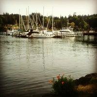 Photo taken at Bainbridge Island by Caroline B. on 5/11/2013