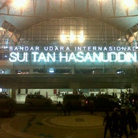 Photo taken at Sultan Hasanuddin International Airport (UPG) by Awan K. on 7/3/2013