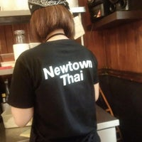 Photo taken at Newtown Thai by Kimi on 2/4/2016