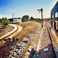 Photo taken at Stazione di Poggiardo by paolo m. on 8/14/2013