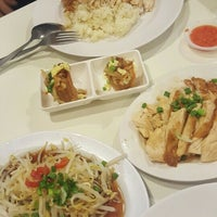 Photo taken at Simply Chicken Rice by Alvin L. on 4/6/2016