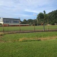 Photo taken at Stade Municipal by 💙 Cynthia C. on 12/24/2012