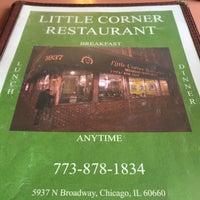 Photo taken at Little Corner Restaurant by Andrew P. on 2/21/2016