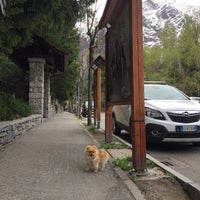 Photo taken at Courmayeur by Дарья О. on 4/15/2017