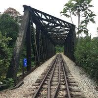 Photo taken at Railway Bridge (Upper Bukit Timah Road) by Phoebe C. on 3/1/2017