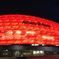 Photo taken at Allianz Arena by Pavel A. on 12/5/2012