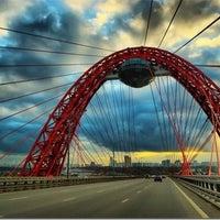 Photo taken at Zhivopisny Bridge by 🌸Natalia P. on 6/19/2013