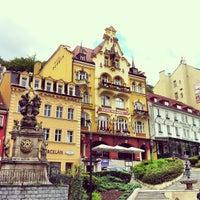 5/20/2013 tarihinde Liber P.ziyaretçi tarafından Karlovy Vary | Karlsbad'de çekilen fotoğraf