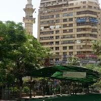 Photo taken at Masjed Mostafa Mahmoud by Ahmed M. on 5/17/2013
